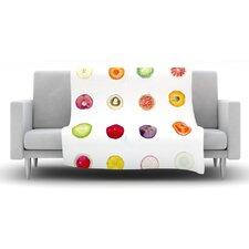 Fruit Fleece Throw Blanket
