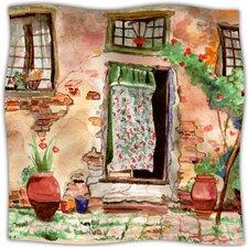 Tuscan Door Fleece Throw Blanket