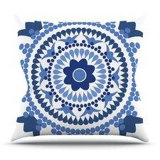 Bohemian Blues by Carolyn Greifeld Throw Pillow
