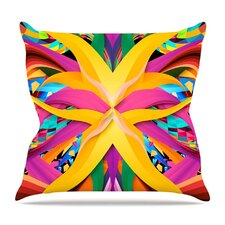 Tropical Fun by Danny Ivan Throw Pillow