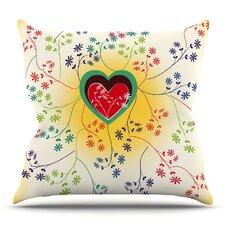Romantic by Famenxt Throw Pillow