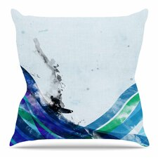The Wave by Frederic Levy-Hadida Throw Pillow
