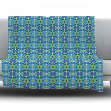 Sea Glass by Empire Ruhl Fleece Throw Blanket