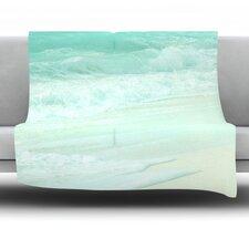 Paradise Beach Fleece Throw Blanket