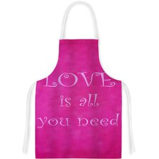 Love Is All You Need Artistic Apron