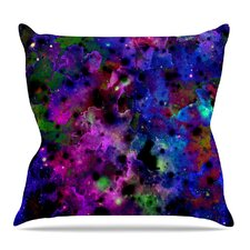 Color Me Floral Throw Pillow