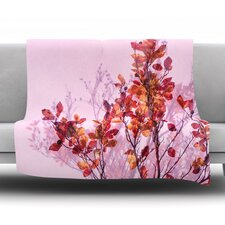 Autumn Symphony Fleece Throw Blanket
