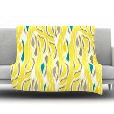 Barengo Sunshine Fleece Throw Blanket