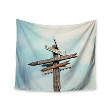 """""""Love Shack"""" by Sylvia Cook Wall Tapestry"""