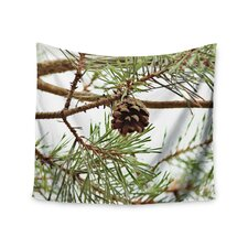 """Pinecone"" by Sylvia Coomes Wall Tapestry"