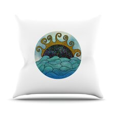 Elephant of Namibia Color Outdoor Throw Pillow
