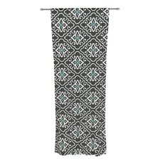 Geometric by Heidi Jennings Sheer Curtain Panel (Set of 2)