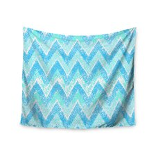 Mint Snow Chevron by Marianna Tankelevich Wall Tapestry