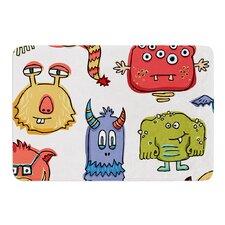 Little Monsters by Brienne Jepkema Bath Mat