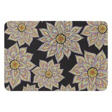 Floral Dance by Pom Graphic Design Bath Mat