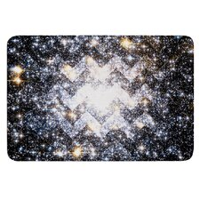 Messier Chevron by Suzanne Carter Bath Mat