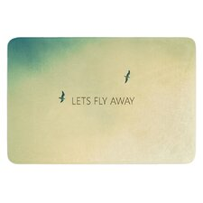 Let's Fly Away by Richard Casillas Bath Mat