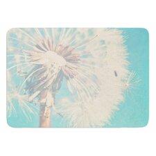 Dandelion by Sylvia Coomes Bath Mat