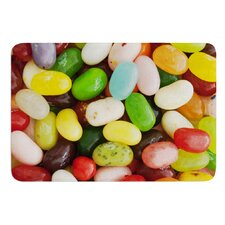 I Want Jelly Beans by Libertad Leal Bath Mat