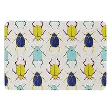 Beetles by Laurie Baars Bath Mat