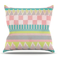 Luna by Louise Machado Outdoor Throw Pillow