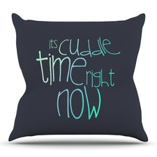 Cuddle Time by Monika Strigel Outdoor Throw Pillow