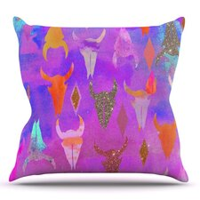 Rodeo by Nikki Strange Outdoor Throw Pillow