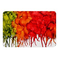 Fall Splatter by Claire Day Bath Mat