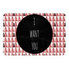 I Want You by Skye Zambrana Bath Mat