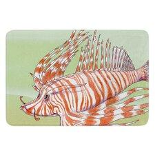 Fish Manchu by Catherine Holcombe Bath Mat
