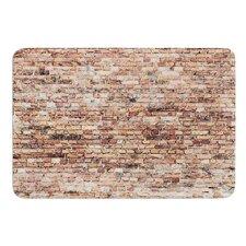 Rustic Bricks by Susan Sanders Bath Mat