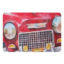 Vintage in Cuba by Rosie Brown Bath Mat