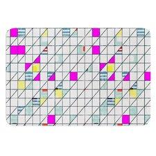 Squares by Michelle Drew Bath Mat