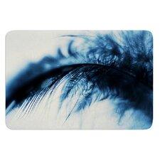 Fall in Blue by Ingrid Beddoes Bath Mat