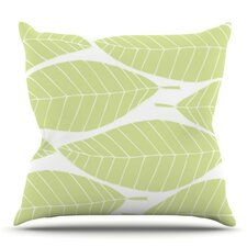 Hojitas by Anchobee Outdoor Throw Pillow