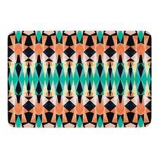 Triangle Visions by Akwaflorell Bath Mat