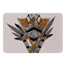Indian Feather by Vasare Nar Bath Mat