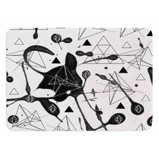 Geometric by Li Zamperini Bath Mat