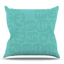 Oliver by Theresa Giolzetti Outdoor Throw Pillow
