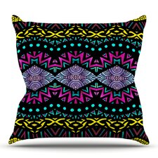 Tribal Dominance by Pom Graphic Design Outdoor Throw Pillow