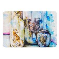 Bottled Animals by Kira Crees Bath Mat