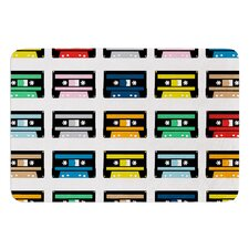 Rainbow Tapes by Project M Bath Mat