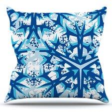 Winter Mountains by Miranda Mol Outdoor Throw Pillow