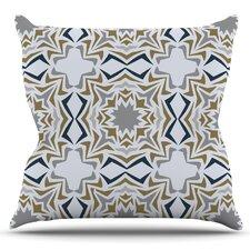 Ice Stars by Miranda Mol Outdoor Throw Pillow