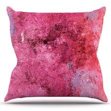 Cotton Candy by CarolLynn Tice Outdoor Throw Pillow