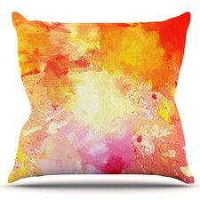 Splash by CarolLynn Tice Outdoor Throw Pillow