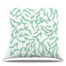 Shoe by Project M Outdoor Throw Pillow