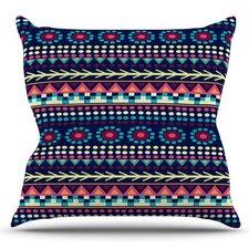 Aiyana by Nika Martinez Outdoor Throw Pillow