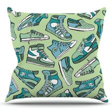Sneaker Lover I by Brienne Jepkema Outdoor Throw Pillow