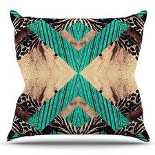 Woven Paisley by Alveron Outdoor Throw Pillow